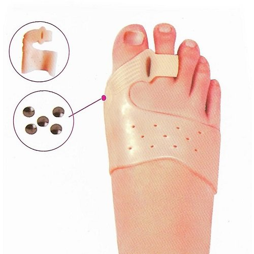 2 Correcteurs silicone (Hallus-Valgus) pour apaiser douleurs orteils